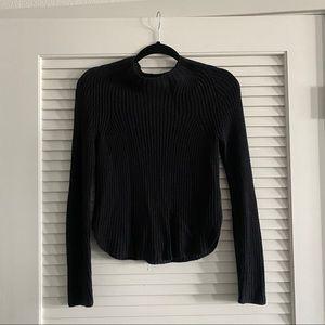 American Apparel knit sweater, XS